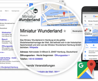 MIntSe Webdesign Leistungen - Google Places